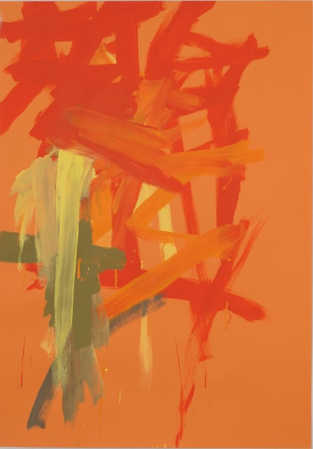 Leah Durner, Orange 2, 2011