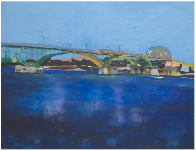Melora Griffis, peace bridge, 2021