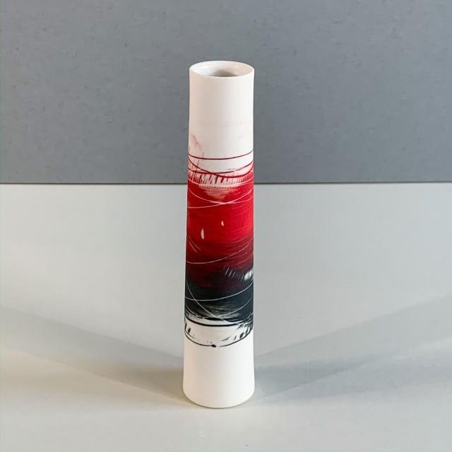 Ali Tomlin, AT2 - Single Stem, Red and Black