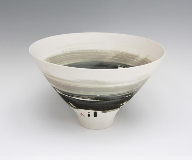 Bowl, Olive and Black