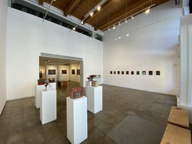 August 2020 Little and Denomie exhibition installation