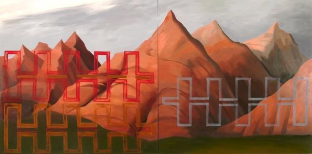 Kay WalkingStick, In the Rockies