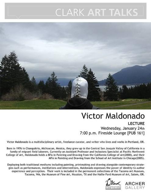 Victor Maldonado Lecture at Clark College