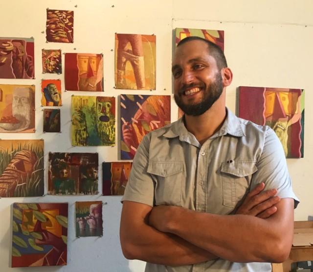 Nat Meade in ArtMaze Magazine