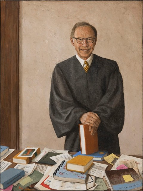 Oregon Chief Justice Portrait by Katherine Ace