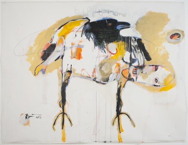 Rick Bartow Retrospective at Missoula Art Museum