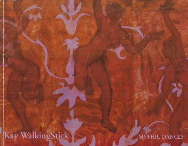 "Cover image on exhibition catalogue, ""Kay WalkingStick - Mythic Dances: Paintings from Four Decades"" (2005)"