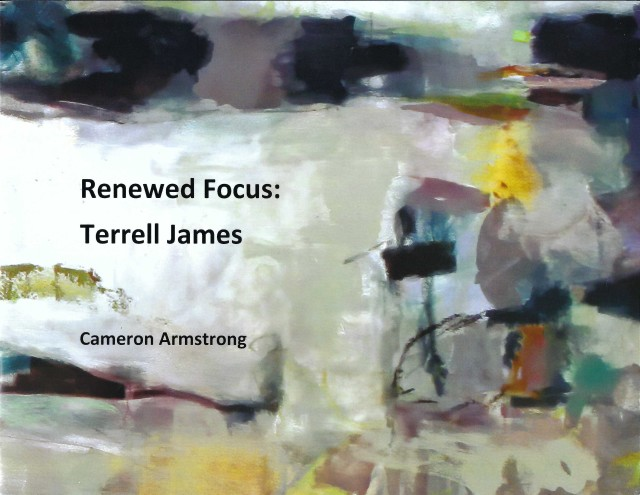 Cover of softcover monograph, Renewed Focus: Terrell James