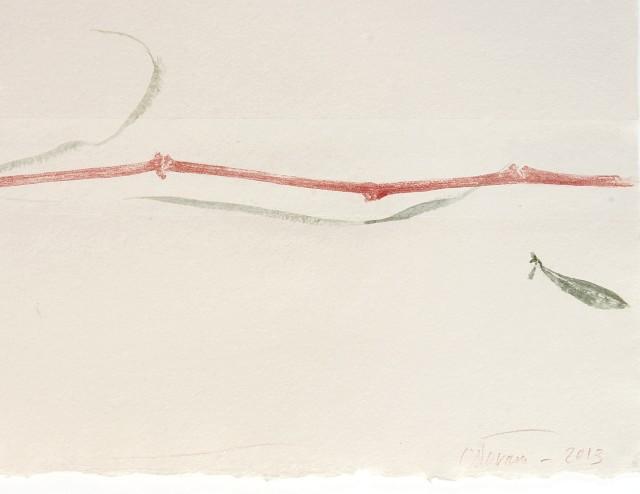 Farhad Ostovani, Étude pour Suite No 1, 2013 (détail)