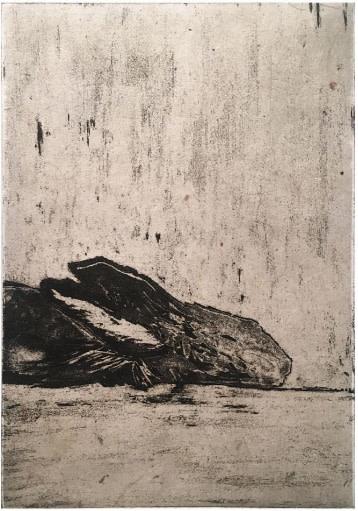 Michel Quérioz, Carnetin 139, aquarelle, 23,5 x 15,4 cm.