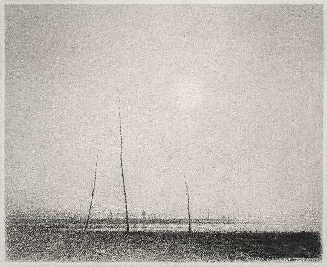 Gunnar Norrman, Mörk strand, 1981
