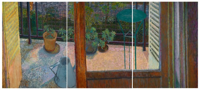 Martin Basdevant, Paysage à la fenêtre, 2019