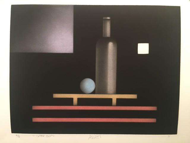 Mario Avati, Le Carré blanc, 1995