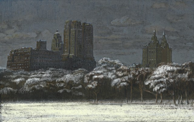 Jean-Baptiste Sécheret, série 'Central Park, soir' #1, 2008-2020