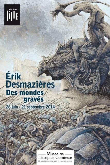 Érik Desmazières au Musée de l'Hospice Comtesse, Lille