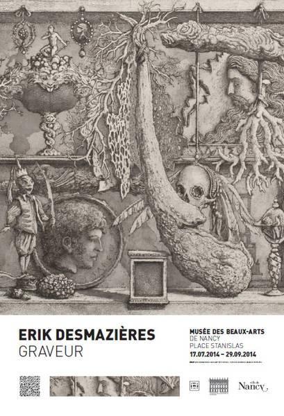 Erik Desmazières, Graveur. Exposition du 17 juillet au 29 septembre 2014