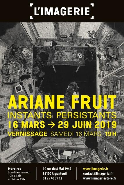 """Exposition d'Ariane Fruit : """"Instants persistants"""""""