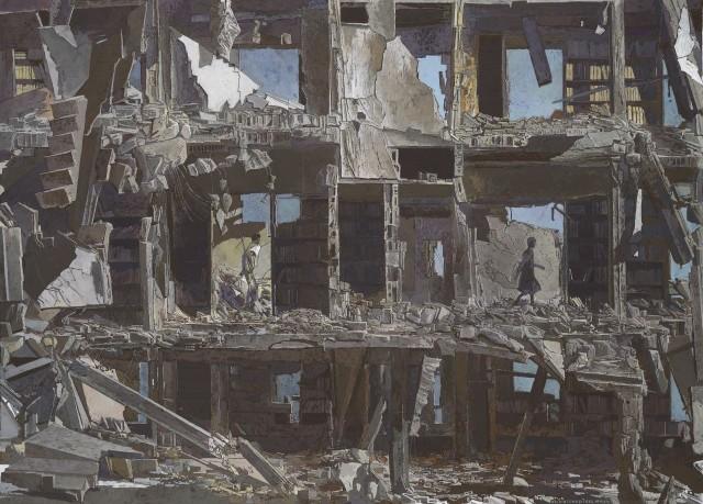 La Bibliothèque dévastée, 2016