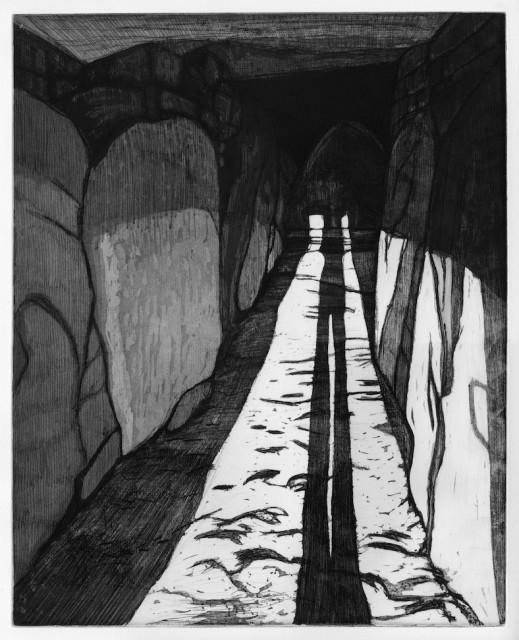 Locmariaquer, planche 5, 2017 Solstice d'hiver III - Sur le seuil