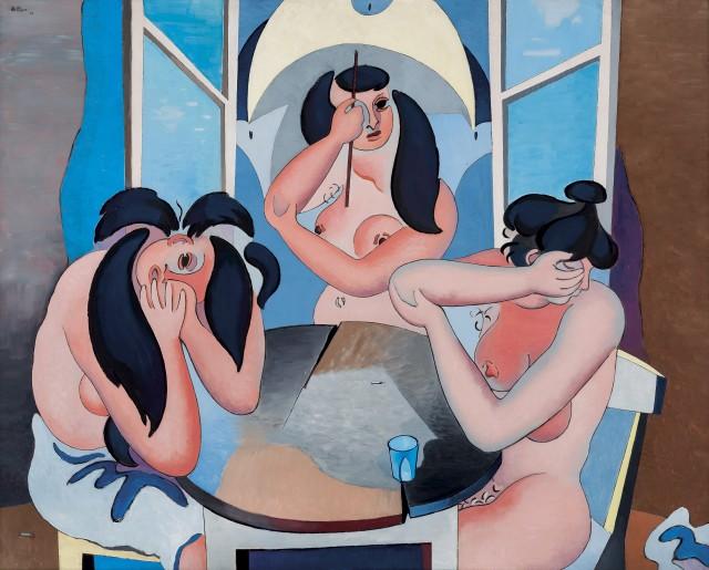 Jean Hélion, Les trois nus, 1946
