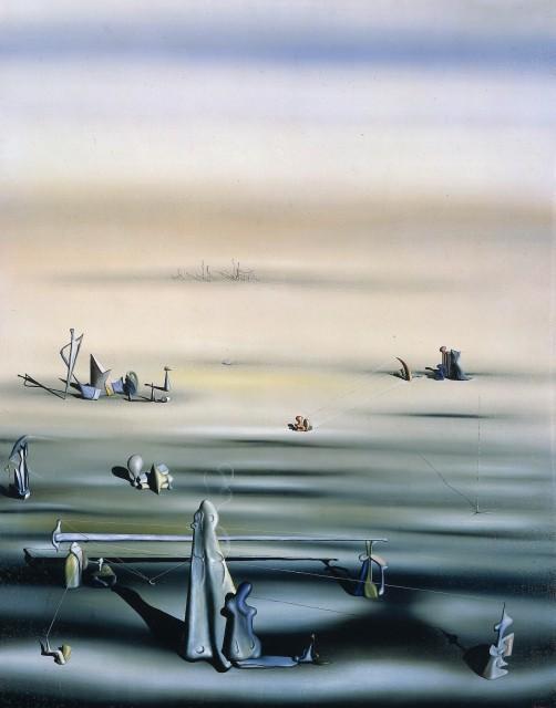 Yves TANGUY  L'Ennui et la Tranquilité, 1938