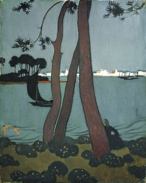 Maurice Denis, Pin à Loctudy, 1894