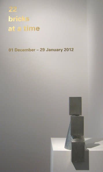 22 Bricks at a Time, Gallery S O London