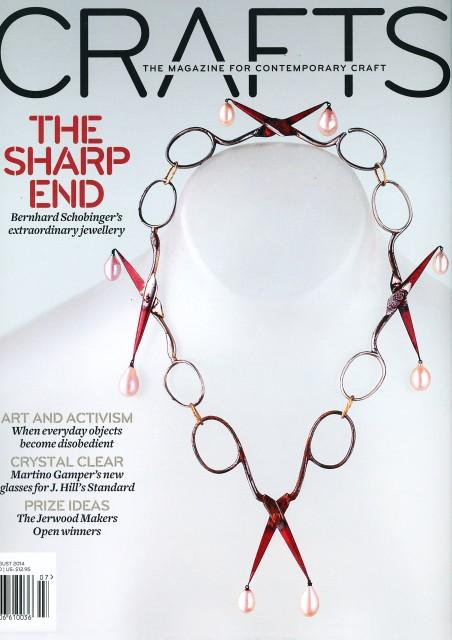 Bernhard Schobinger : Crafts Magazine