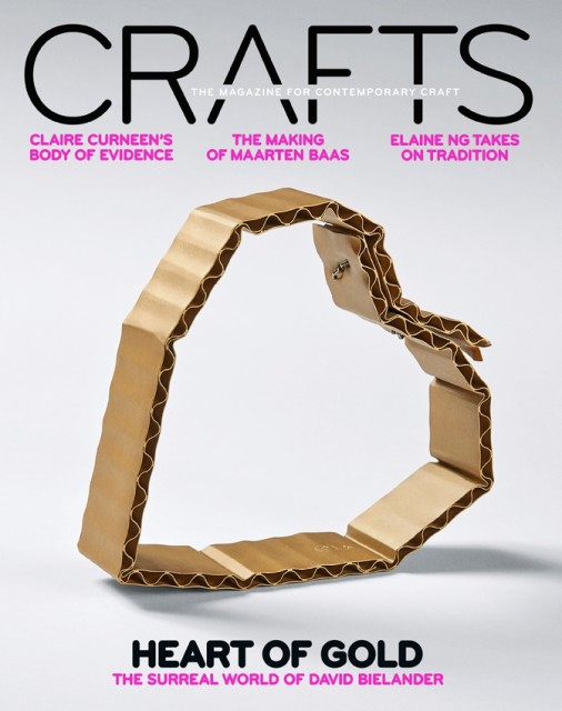 Crafts Magazine, cover picture (March / April 2017)