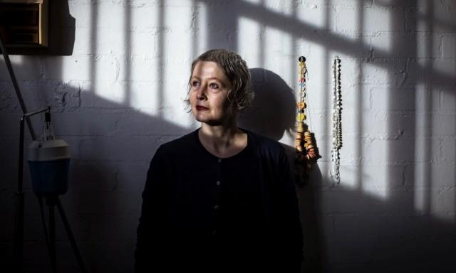 Manon van Kouswijk in her Melbourne studio. Portrait by Chris Hopkins