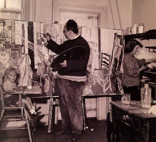 17 Images About John Bratby On Pinterest: John Bratby Biography