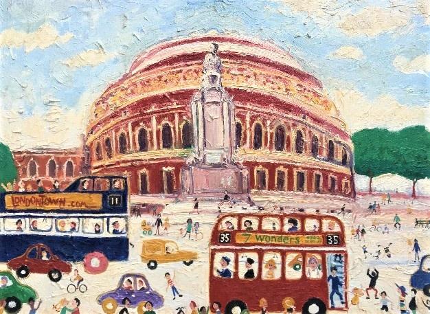 Simeon Stafford, Albert Hall