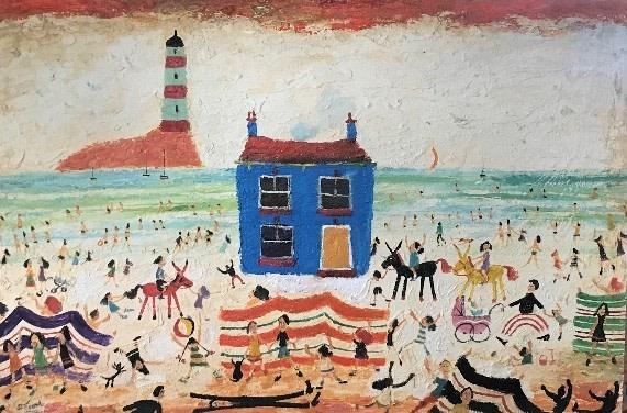 Simeon Stafford, Blue House and Lighthouse