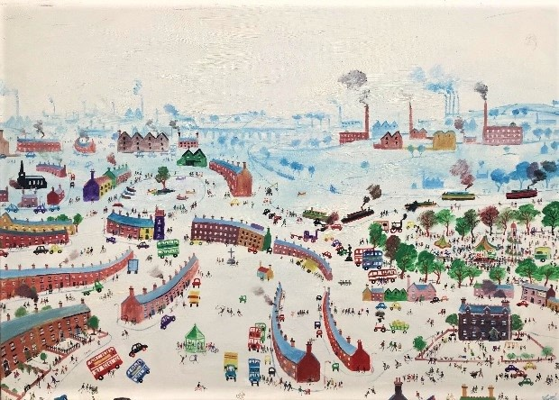 Simeon Stafford , Industrial panorama