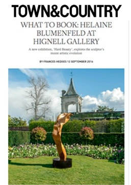 What to book: Helaine Blumenfeld at Hignell Gallery