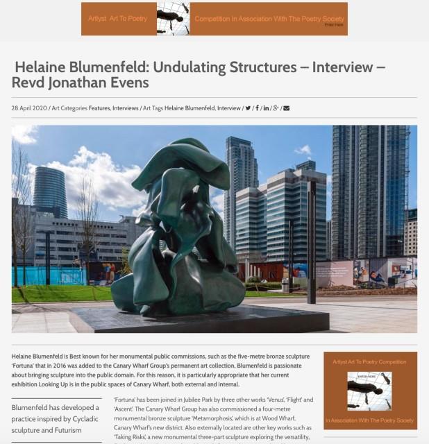 Helaine Blumenfeld: Undulating Structures