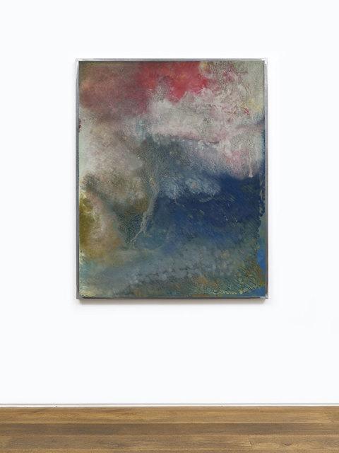 Kevin Harman Seasons, 2018 Household paint, double-glazing unit, steel frame 200.6 x 200.6 x 6 cm (framed)