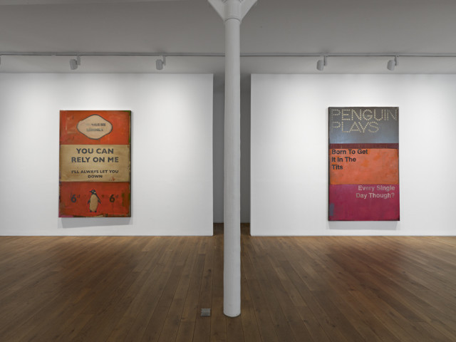 Installation view of the exhibition Overcoming Optimism