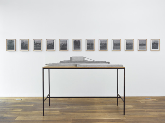 Installation view of Richard Forster's solo exhibition Modern Ingleby Gallery, Edinburgh