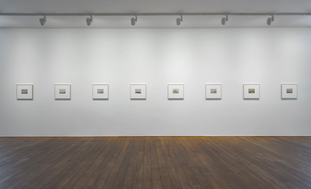 Installation view of Craig Murray-Orr's solo exhibition Thirty Small Paintings Ingleby Gallery, Edinburgh (May - July 2015)