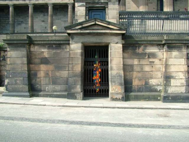 Candela V installed at Old Royal High School, Edinburgh, August 2006