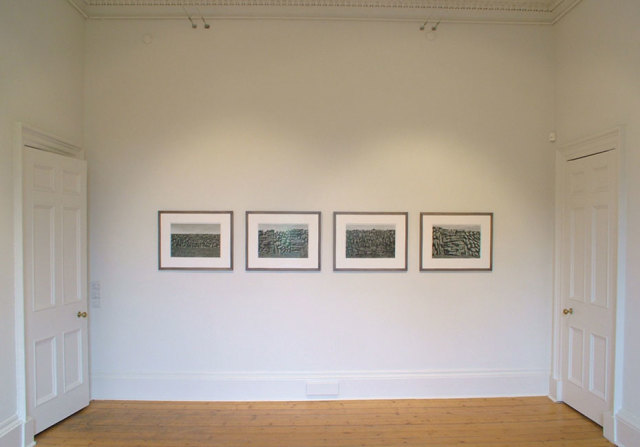 Walls of Aran (from left: Inis OIrr III, Inis OIrr VI, Inis Oirr V, Inis OIrr II) 2007 Digital C-Type Photographs 16 x 20