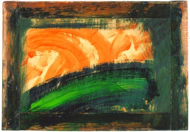 An Early Landscape 2004-2006 oil on wood 36.5 x 52.4 cm