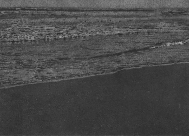 Untitled 48 (Seascape) 2008 pencil on card 12.7 x 17.8 cm image size