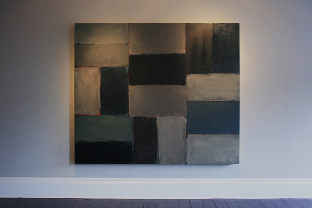 Sean Scully Blue Blue, 2005 oil on linen 190.5 x 215.9cm private collection