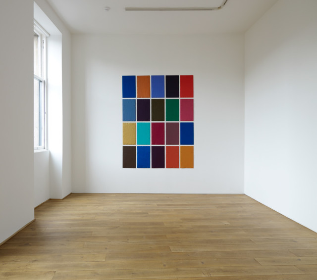 Installation view of Winston Roeth solo exhibition, Ingleby Gallery, Edinburgh 2011