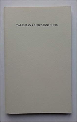 Ian Hamilton Finlay: Talismans and Signifiers