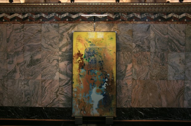 Installation view of Kevin Harman Untitled (11), 2017 The Fitzrovia Chapel, London (2 - 5 October 2017) Sold