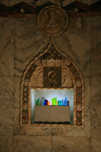 Installation view of David Batchelor Concreto 4.0/04, 2017 The Fitzrovia Chapel, London (2 - 5 October 2017) Sold