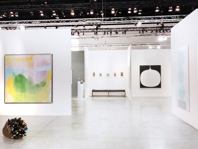 Installation view of Ingleby at Art Basel | Miami Beach 2018 6 - 9 December, 2018